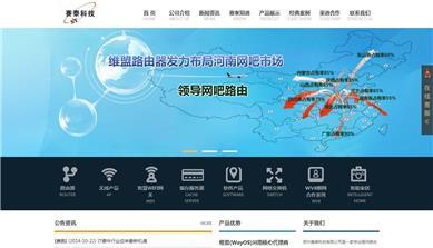 郑州赛泰科技有限公司网站建设案例