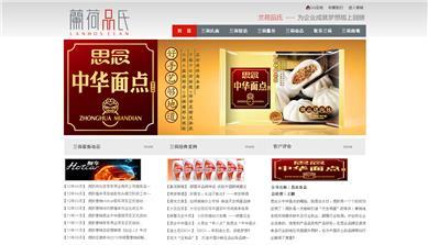 郑州兰荷品氏文化传播有限公司网站建设案例效果图
