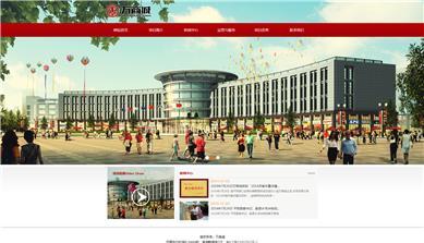 河南万商城项目网站制作上线
