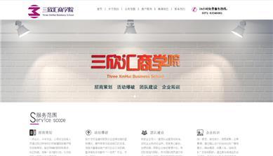 郑州网站建设案例_三欣汇